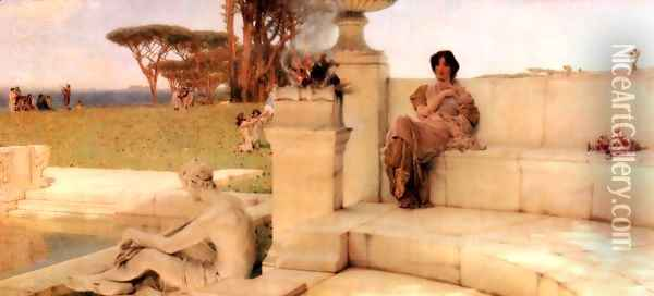 The Voice of Spring Oil Painting - Sir Lawrence Alma-Tadema