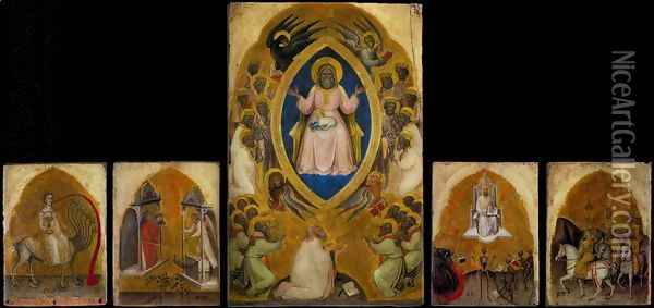 Polyptych of the Apocalypse Oil Painting - Jacobello Alberegno