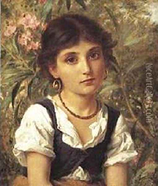 Far Away Thoughts Oil Painting - Sophie Gengembre Anderson