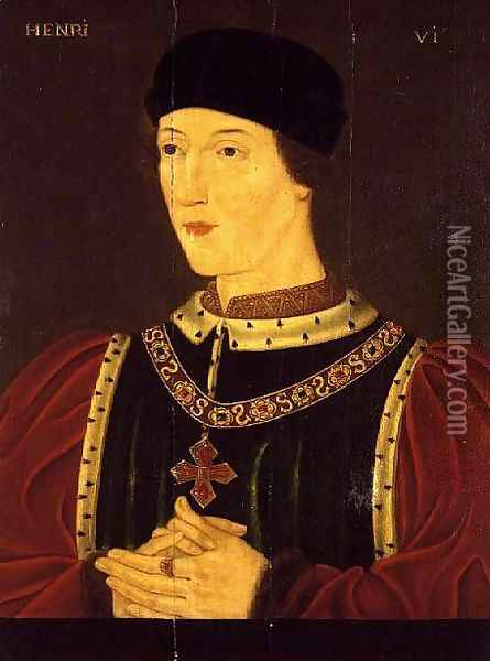 Henry VI of England (1421-71) Oil Painting - Anonymous Artist