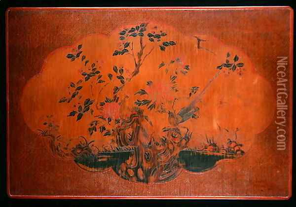 Table Top, Kangxi period (1662-1722) Oil Painting - Anonymous Artist