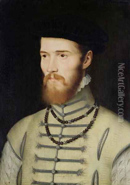 Portrait of a Man, possibly Don John of Austria (1547-78), c.1570 Oil Painting - Anonymous Artist