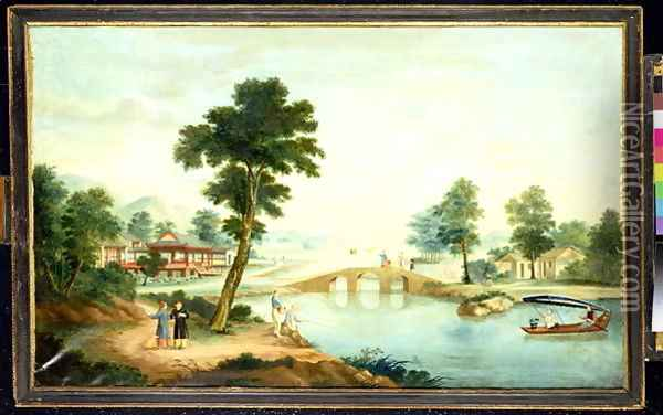Summer Oil Painting - Anonymous Artist