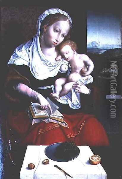 Madonna and Child Oil Painting - Anonymous Artist