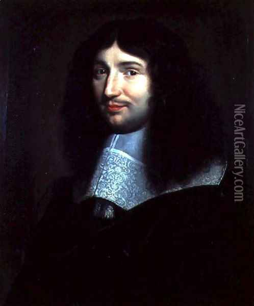 Portrait of a Man, Presumed to be Jean Baptiste Colbert (1619-1683) Oil Painting - Anonymous Artist