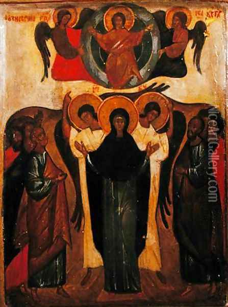 The Ascension Oil Painting - Anonymous Artist