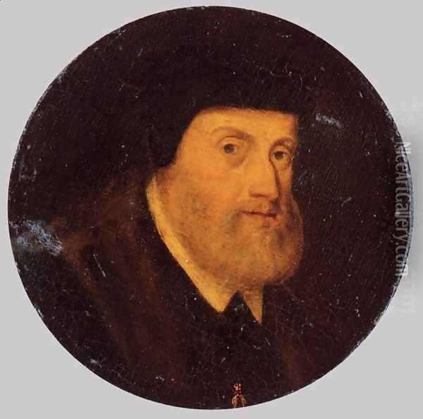 Portrait of Charles V 1550 Oil Painting - Anonymous Artist