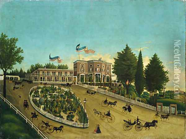 The Claremont 1855 Oil Painting - Anonymous Artist