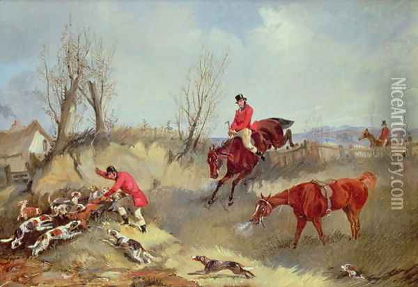The Kill Oil Painting - Henry Thomas Alken