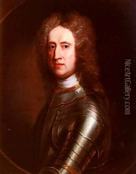 Portrait Of General James Oglethorpe Oil Painting - William Aikman