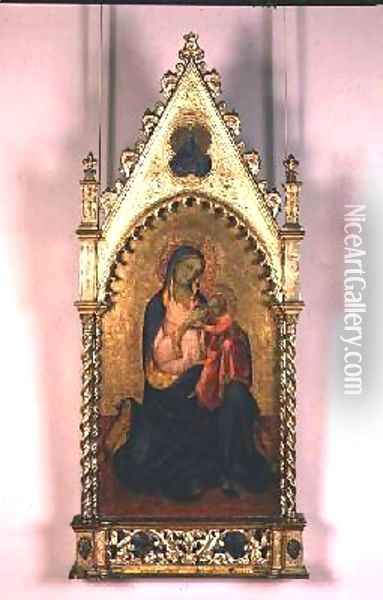 The Virgin and Child Oil Painting - Fra Angelico (Guido di Pietro)