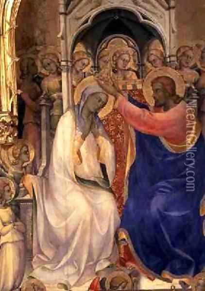 The Coronation of the Virgin 2 Oil Painting - Fra Angelico (Guido di Pietro)