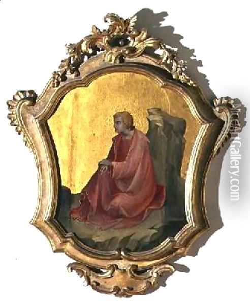 St John the Evangelist Oil Painting - Fra Angelico (Guido di Pietro)