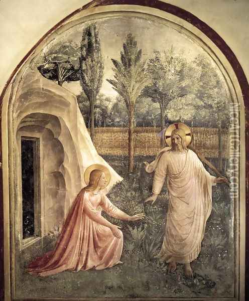 Noli Me Tangere Oil Painting - Fra Angelico (Guido di Pietro)