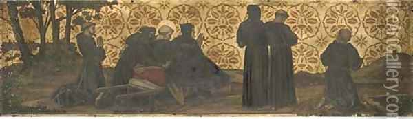 The Stigmata of St. Francis Oil Painting - Fra Angelico (Guido di Pietro)