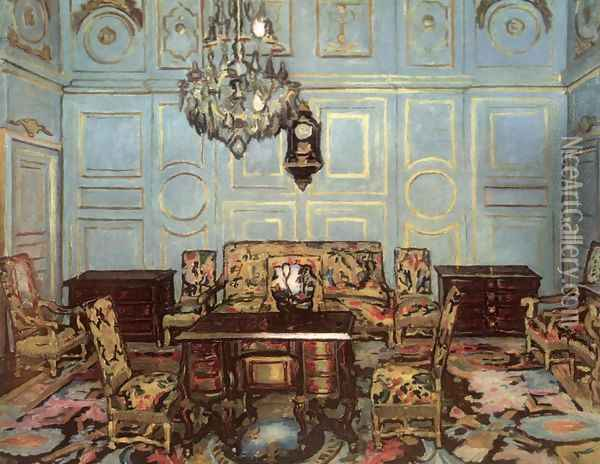 The Salon of Madame de Maintenon 1911 Oil Painting - De Lorme and Ludolf De Jongh Anthonie
