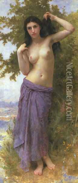 Beaute Romane 1904 Oil Painting - William-Adolphe Bouguereau