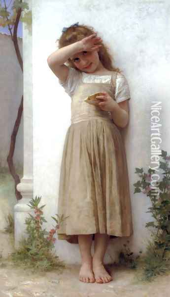 En Penitence (In Penitence) Oil Painting - William-Adolphe Bouguereau