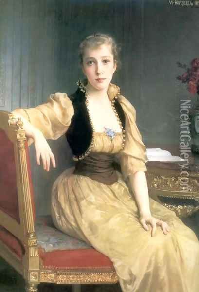 Lady Maxwell Oil Painting - William-Adolphe Bouguereau