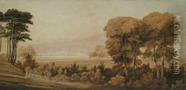 The Royal Military Academy, Woolwich Oil Painting - William Turner