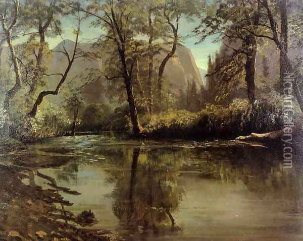 Yosemite Valley, California Oil Painting - Albert Bierstadt