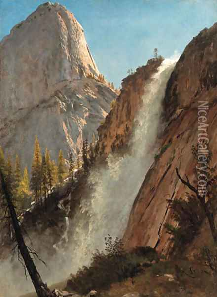 Bierstadt, Albert 3 Oil Painting - Albert Bierstadt