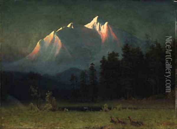 Bierstadt, Albert Oil Painting - Albert Bierstadt