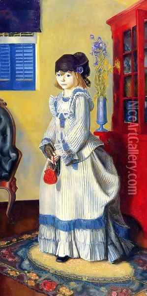 Lady Jean Oil Painting - George Wesley Bellows