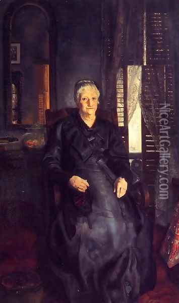 My Mother Oil Painting - George Wesley Bellows