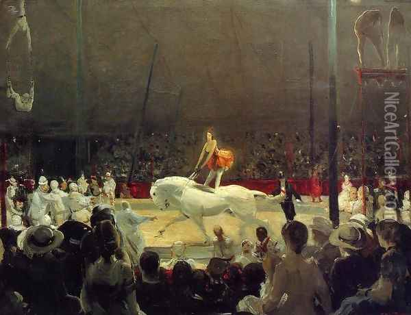 The Circus Oil Painting - George Wesley Bellows