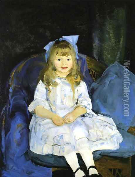 Portrait Of Anne Oil Painting - George Wesley Bellows