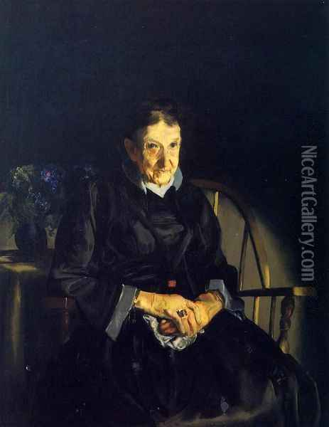 Aunt Fanny Oil Painting - George Wesley Bellows
