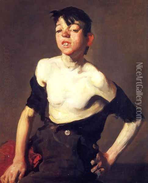 Paddy Flannigan Oil Painting - George Wesley Bellows