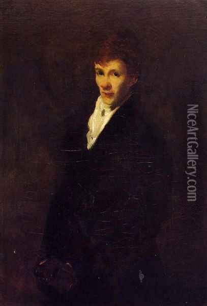 Robin Oil Painting - George Wesley Bellows