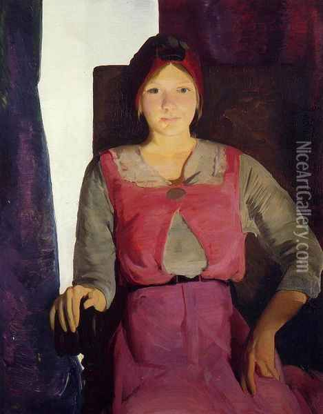 Garaldine Lee, No. 2 Oil Painting - George Wesley Bellows