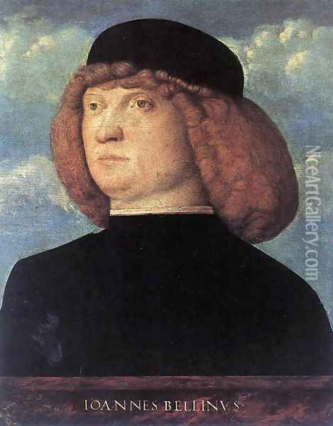 Portrait of a Young Man 1500 Oil Painting - Giovanni Bellini