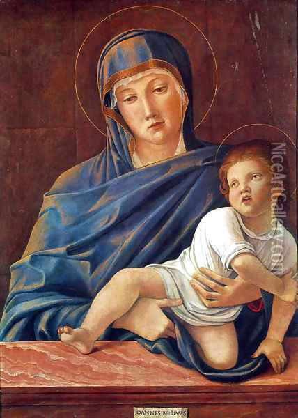 Madonna and Child I Oil Painting - Giovanni Bellini