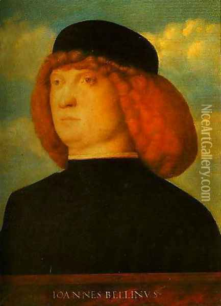 Portrait of a Man Oil Painting - Giovanni Bellini