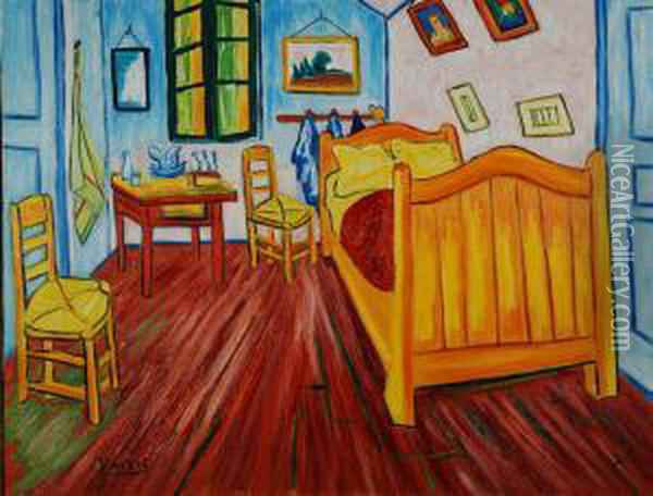 Camera Da Letto Oil Painting - Vincent Van Gogh