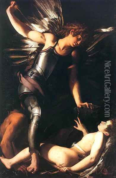 Heavenly Love and Earthly Love 1602 1603 Oil Painting - Giovanni Baglione