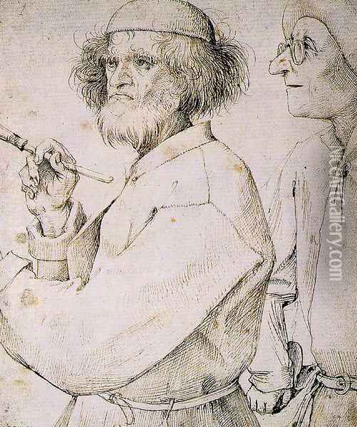 The Painter and the Connoisseur Oil Painting - Pieter the Elder Bruegel