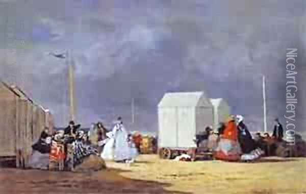 Approaching Storm 1864 Oil Painting - Eugene Boudin