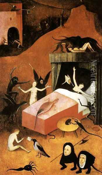 Last Judgment (fragment of Hell) Oil Painting - Hieronymous Bosch