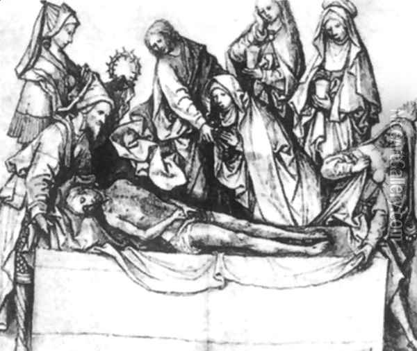 The Entombment 1507 Oil Painting - Hieronymous Bosch