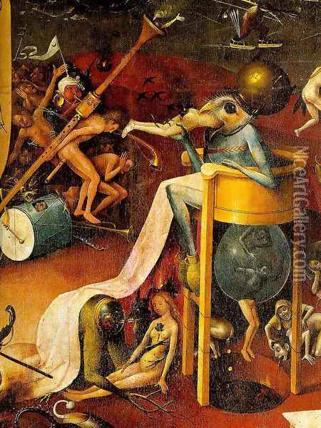Garden of Earthly Delights [detail] 2 Oil Painting - Hieronymous Bosch