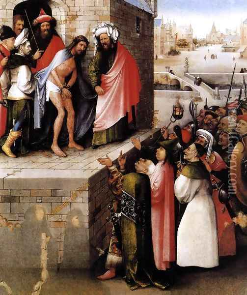 Ecce Homo 1475-80 Oil Painting - Hieronymous Bosch
