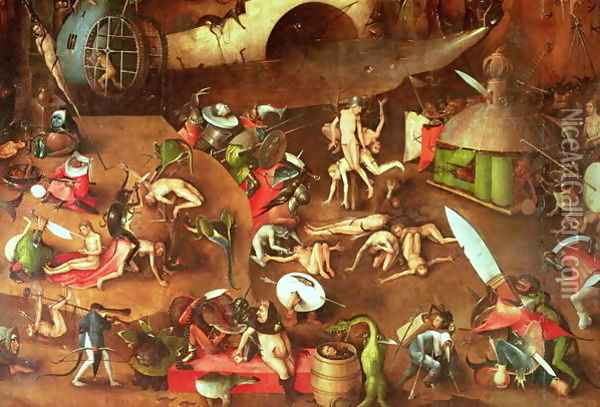 The Last Judgement (1) Oil Painting - Hieronymous Bosch