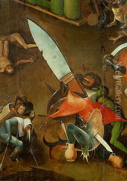 The Last Judgement (2) Oil Painting - Hieronymous Bosch