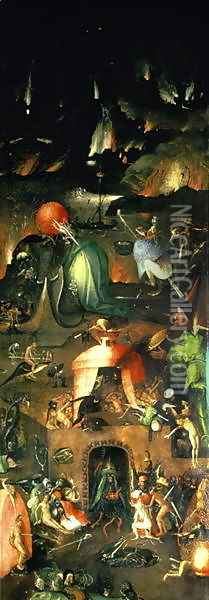 The Last Judgement (4) Oil Painting - Hieronymous Bosch