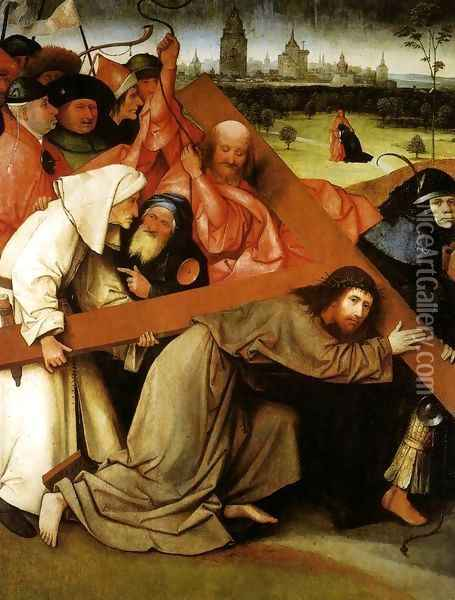 Christ Carrying the Cross Oil Painting - Hieronymous Bosch
